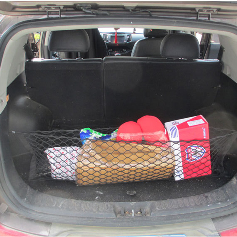 HOT New Car Nylon Elastic Mesh Net Car Hatchback Bakre Bagage Bagage - Bil interiör tillbehör - Foto 6