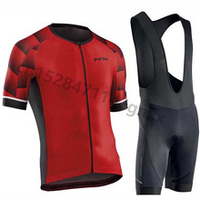 2019 Northwave Summer Men Cycling jersey Set Breathable Bicycle Clothing MTB Bike Wear Clothes Maillot Ropa Ciclismo NW