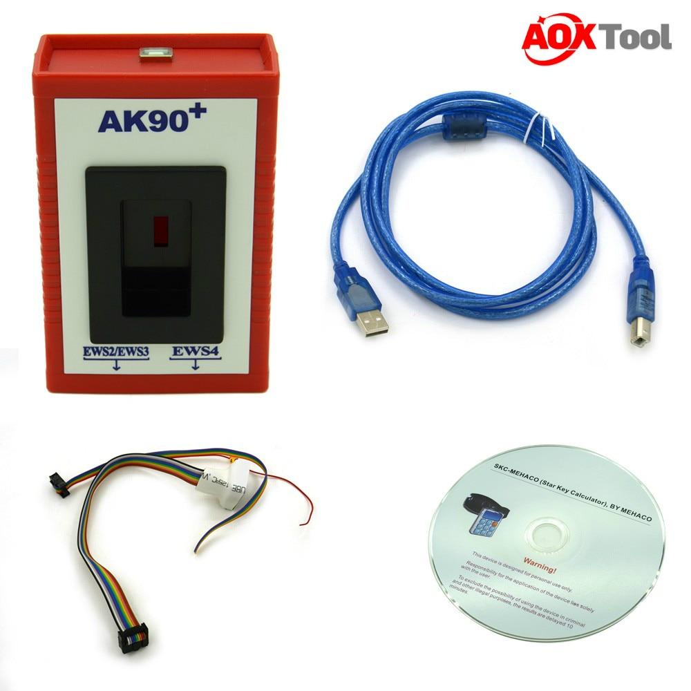 Prix pour Prix usine! haute Qualité AK90 Programmeur AK90 + Pour BMW AK90 Programmeur principal pour Tous BMW EWS Nouvelle Version V3.19