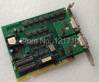 Industrial equipment board W&T PC_BAS_4.1 ISA PC Card 2x RS232 1kV isolated
