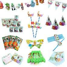 Cute Animal Theme Birthday Party Gift Bag Banner Supplier Baby Shower Girl Boy Supplies Decor