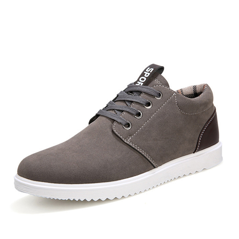 2018 Fashion Men Casual Shoes Patchwork   Leather   Men Shoes Spring Autumn Male Footwear Sneakers for Autumn Winter