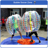 Free Shipping Air Bubble Soccer Ball Bumper Ball Giant Human Body Soccer Inflatable Bubble Ball Suit For Football For Sale