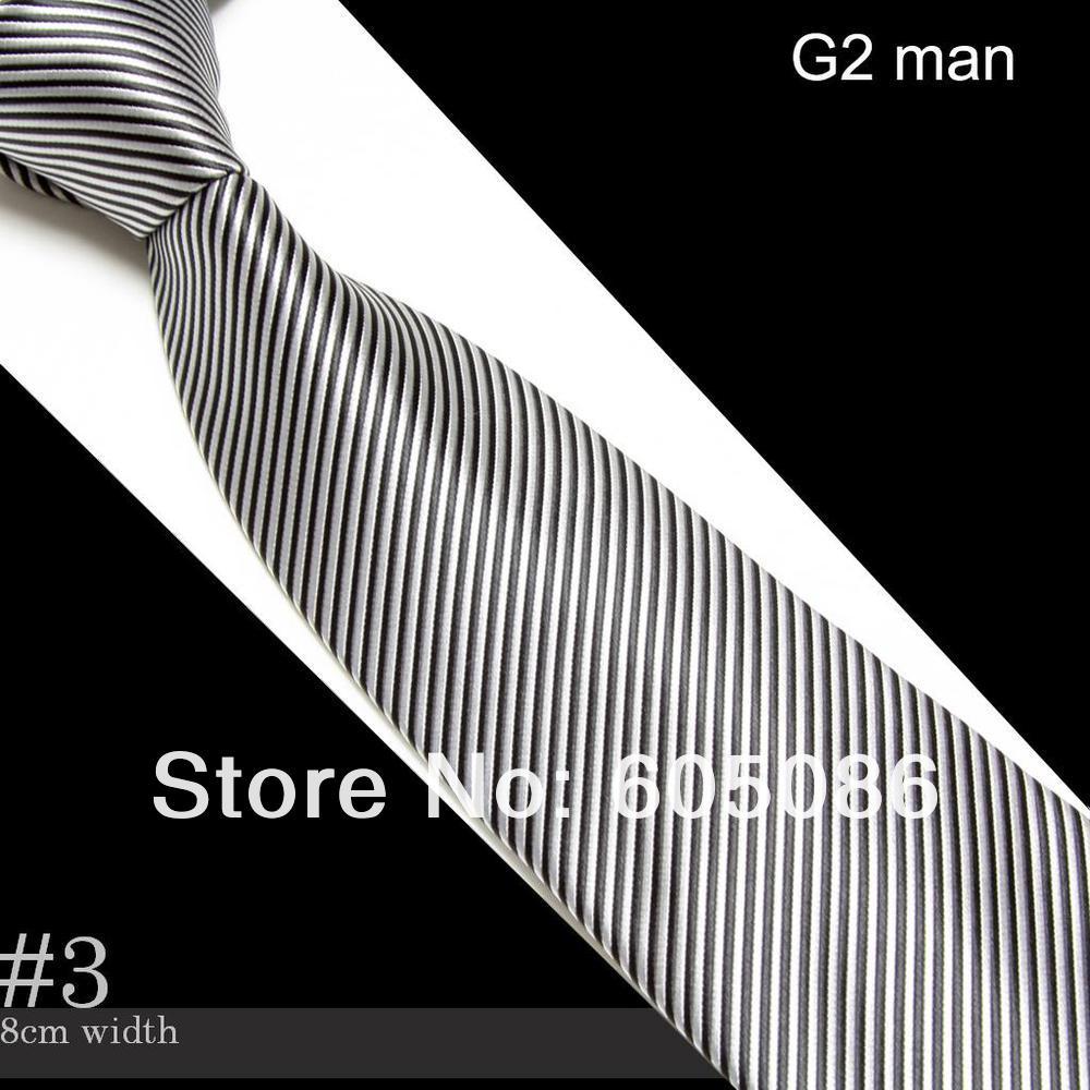 HOOYI 2018 striped fashion Mens Neck ties neckwear