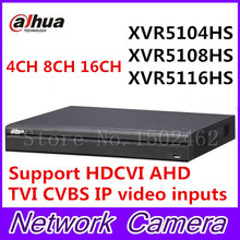 Dahua XVR video recorder XVR5104HS XVR5108HS XVR5116HS 4ch 8ch 16ch 1080P Support HDCVI/ AHD/TVI/CVBS/IP Camera