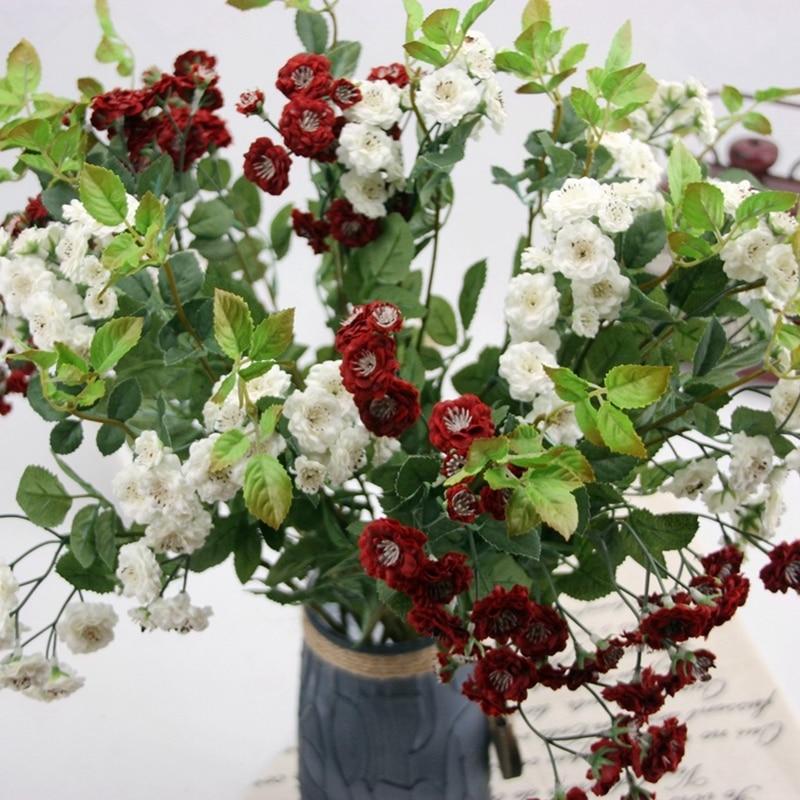 Desktophouseware Silk Flowers Artificial Fake Flower Little Lilac