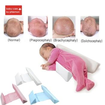 Babycare Yang Dapat Disesuaikan dengan Kualitas Tinggi Bantal Memory Bayi Yang Baru Lahir Tidur Positioner Mencegah Kepala Datar Bentuk Anti Roll Bantal