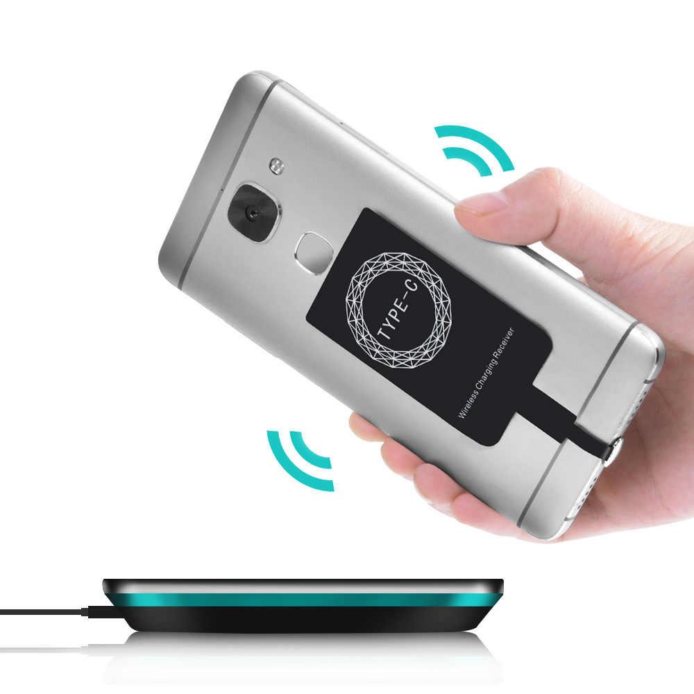 NTONPOWER اللاسلكية موصل شحن ل فون 7 6 6s 5 المصغّر usb نوع C العالمي تشى اللاسلكية مهايئ شاحن استقبال