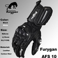Super affordable Furygan afs10 motorcycle Riding gloves road racing gloves cycling glove leather gloves 2color