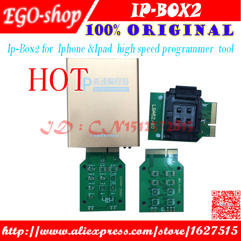 free shipping Ip high speed programmer box IP box 2 for for font b Iphone b