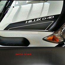 4wd off road racing styling cool hood graphic vinyl car sticker for toyota hilux vigo