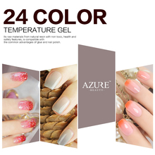 Sexy Mix Temperature Change Chameleon Make up Color Changing UV Nail Gel Polish Long Lasting UV Gel Nail Varnish NEWEST Gel Nail