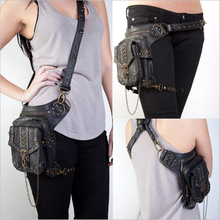 Messenger Bag  Cosplay Steampunk Retro Outdoor Motorcycle Lady Shoulder Game Halloween Unisex