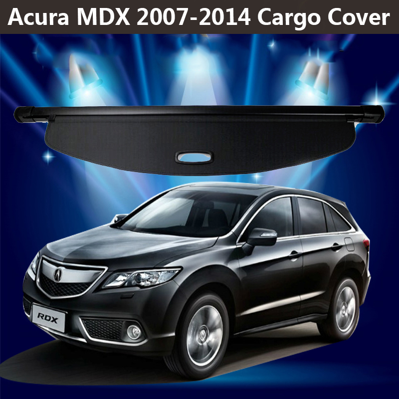 For Acura MDX 2007 2014 Rear Cargo Privacy Cover Trunk