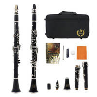 Brand New Music Fancier Club Matte ABS Resin Clarinet New Bakelite Clarinets Student Bb Mouthpiece Included Case Free Shipping