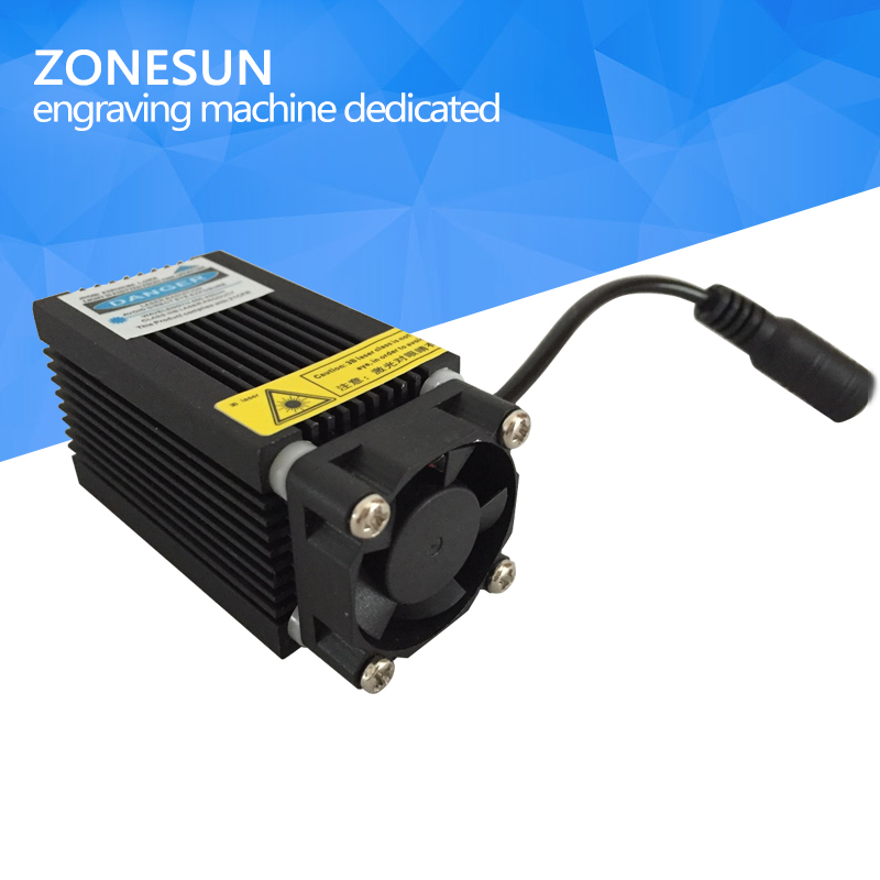 450nm 2500mW 2.5W Blue Laser Module Laser Generator With Heatsink Cooling Fan For DIY Laser Engraver Engraving Machine Etcher цена и фото