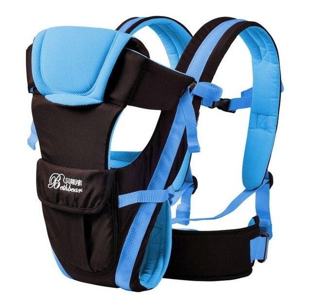Bébé sac à dos transporteur nouveau ergonomique écharpe porte-bébé  Respirant multifonctionnel Avant Face kangourou 1891ffa7520
