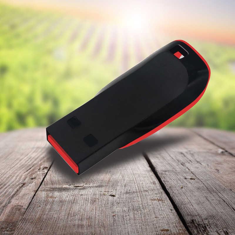 محرك فلاش USB 4GB 8GB 16GB 32GB 64GB حملة القلم USB 2.0 عصا الذاكرة فلاش بطاقة Pendrives
