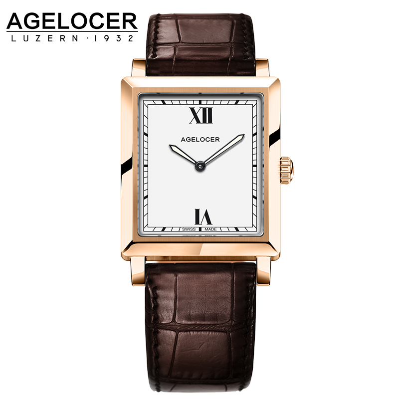 Top Quality Fashion Luxury Agelocer brand Woman Dress Watches Ultra Thin Watch For Women Quartz-watch relogio feminino misscycy lz the 2016 new fashion brand top quality rhinestone men s steel band watch quartz women dress watch relogio feminino