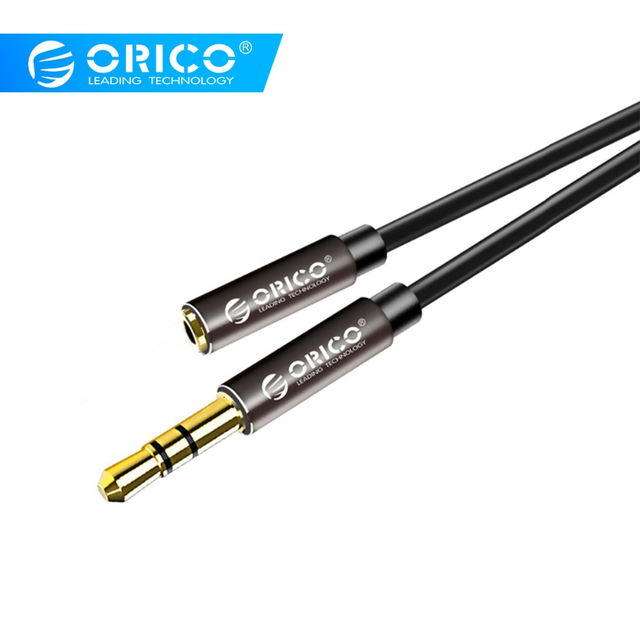 ORICO 3.5mm Jack Aux Extension Cable Headphone Extension Cable for Phone Headphone Aux Devices