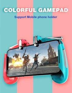 Image 5 - L1R1 Gioco Shooter Del Telefono Mobile Gamepad Controller di Gioco Joystick Ultra Portatile Grip Holder Con mute ventola di dissipazione di calore