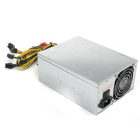 1800W Mining Machine Power Supply For Eth Bitcoin Miner Antminer S7 S9 90 Gold Aluminum Miner