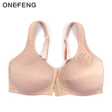 ONEFENG 6041 Women Underwear Front Closure Bra for Silicone Breast Prosthesis Mastectomy women цена 2017