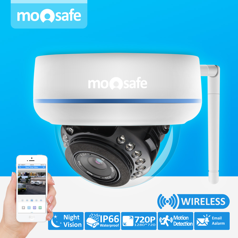 Video Security Camera CCTV HD 720P Home Surveillance Wireless WIFI Network IP Camera Outdoor Onvif H.264 IR Night Vision IP Cam sacam 720p wifi wireless ip camera with two way audio ir cut night vision video onvif p2p network webcam for home security alarm