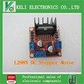 Frete Grátis 20 pcs Novo Dual H Ponte DC Stepper Motor Drive Controlador Board Módulo L298N para Arduino Frete Grátis TK0450