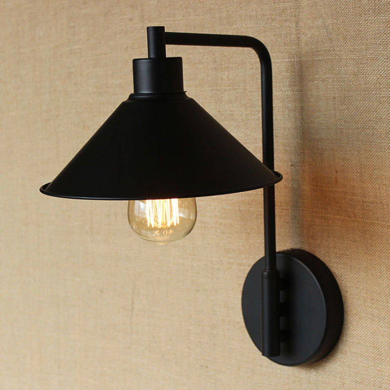 Modern Edison LED Wall Lamp For Bedroom vintage Wall ...