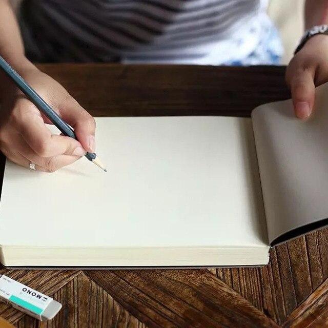 1pcs Creative 288 גיליונות רושם יד מחברת המצוירת אופנה הדפסת גרפיטי בלוק ציור גדול מתנה עסקית פנקס