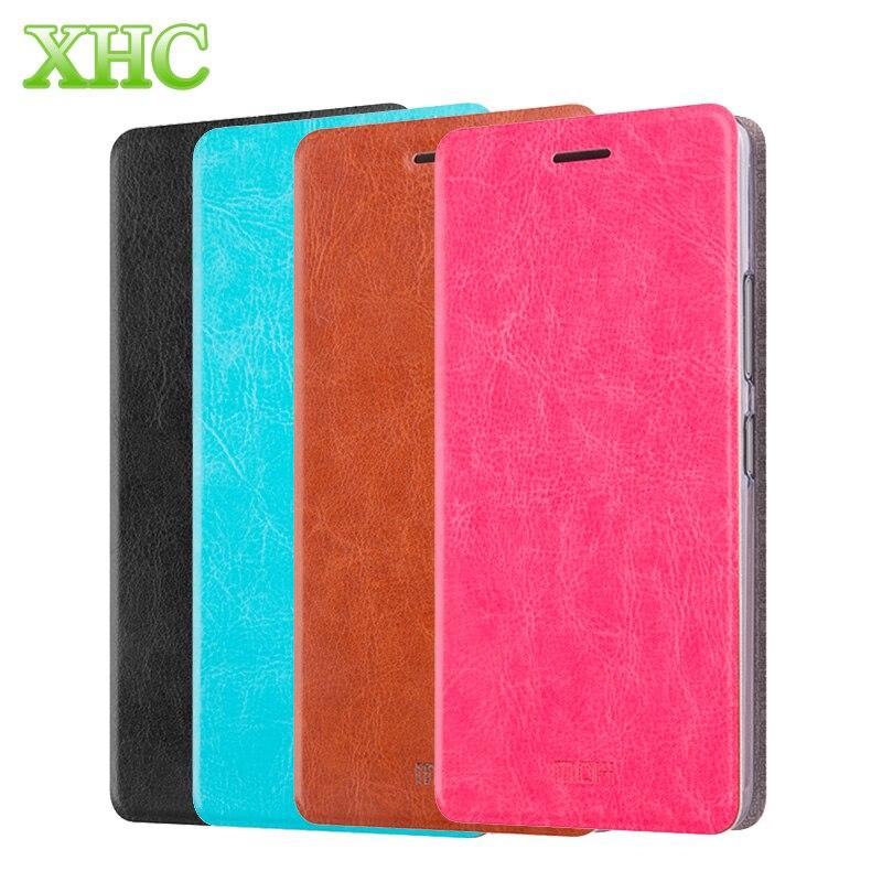 MOFI Xiaomi Redmi 4X Case Redmi Note 4X Xiaomi 5c Mobile Phone Full Covers Horizontal Flip Leather Case Stand Phone Holder