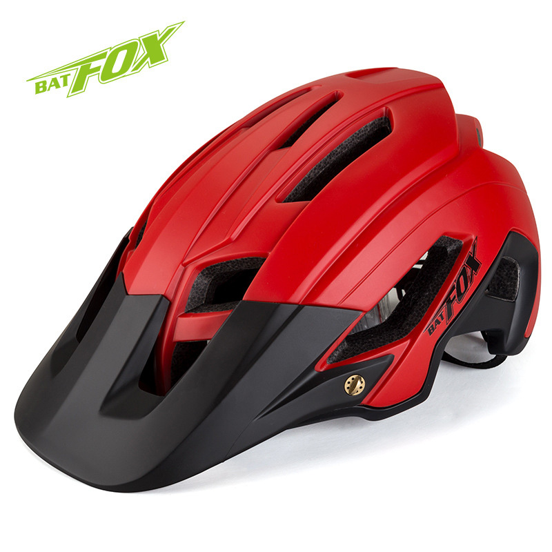 BATFOX サイクリングヘルメット道路 MTB 安全ヘルメット一体成形自転車ヘルメット超軽量通気性バイクヘルメット Casco Ciclismo  グループ上の スポーツ & エンターテイメント からの 自転車用ヘルメット の中 1