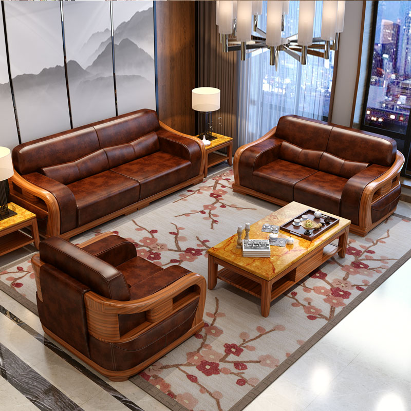 Wood Furniture Living Room Set China Free Shipping Sofa - Living Room Sofa Bed