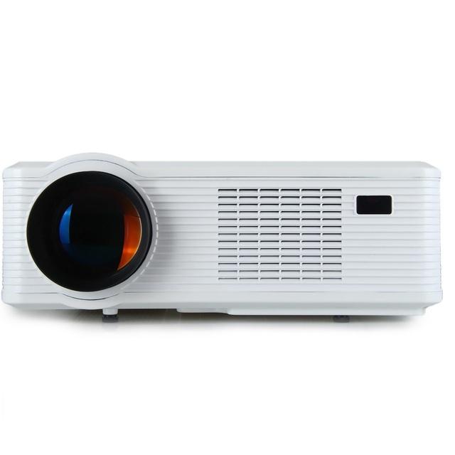 Original excelvan cl720 projetor conduzido 3000 lumens 1280x800 hd projetor lcd com tv analógica interface para entretenimento em casa