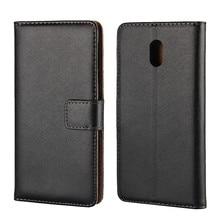 Подлинная кожаный бумажник откидная крышка телефон case для nokia 3 5 6 с слот для карты держатель