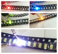 1000 pieces/lot1206 SMD RED Super Bright 1206 SMD LED Diodes Package Kit