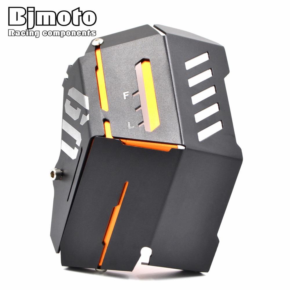 BJMOTO оранжевый Алюминиевый радиатор Боковая Крышка гвардии протектор Комплект для YAMAHA MT09 FZ09 2014 2015 2016