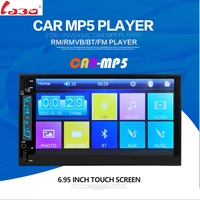 LaBo Car MP5 Player 7 Touch Screen In Dash Bluetooth Car Stereo Radio MP4 Player Support