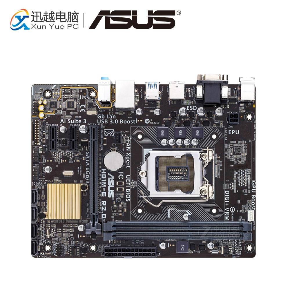 Asus H81M-E R2.0 Desktop Motherboard H81 Socket LGA 1150 i7 i5 i3 DDR3 16G SATA3 Micro-ATX asus h81m p page 6