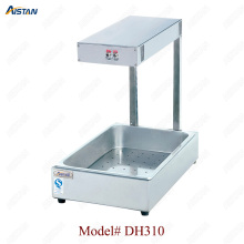 цены DH310 Electric desktop Hot salad pizza Potato Chips Warmer Display showcase for Commercial use