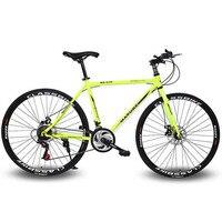 28 дюймов 21 Скорость велосипеда роде велосипед 21 Скорость дисковые тормоза высокий мужчина горный велосипед 4 цвета выбрать