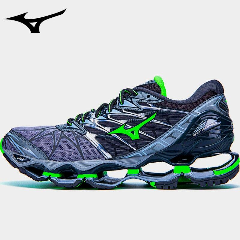 c42920ff3c013 Tenis MIZUNO WAVE Profecia 7 Estável Profissional Esportes Ao Ar Livre  Sapatos Tênis Homens Tênis Sapatos De Halterofilismo 40-45