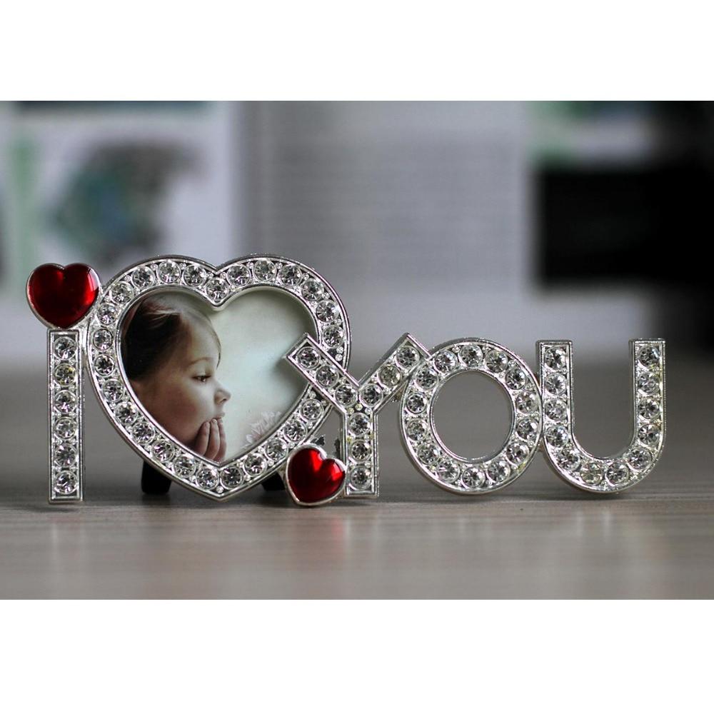 Romantische Valentinstag Geschenk Ich Liebe Dich Bilderrahmen Rahmen ...