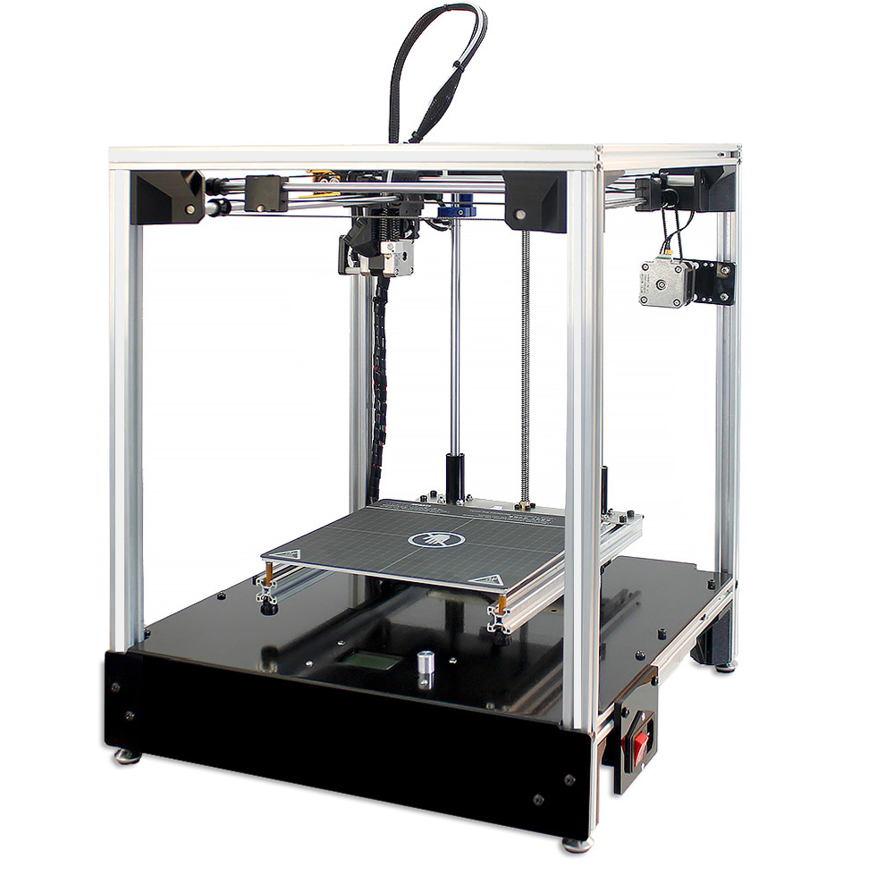3D printer 205*205*245mm size Cross structure Full metal structure 3d printer high precision 3D Soft