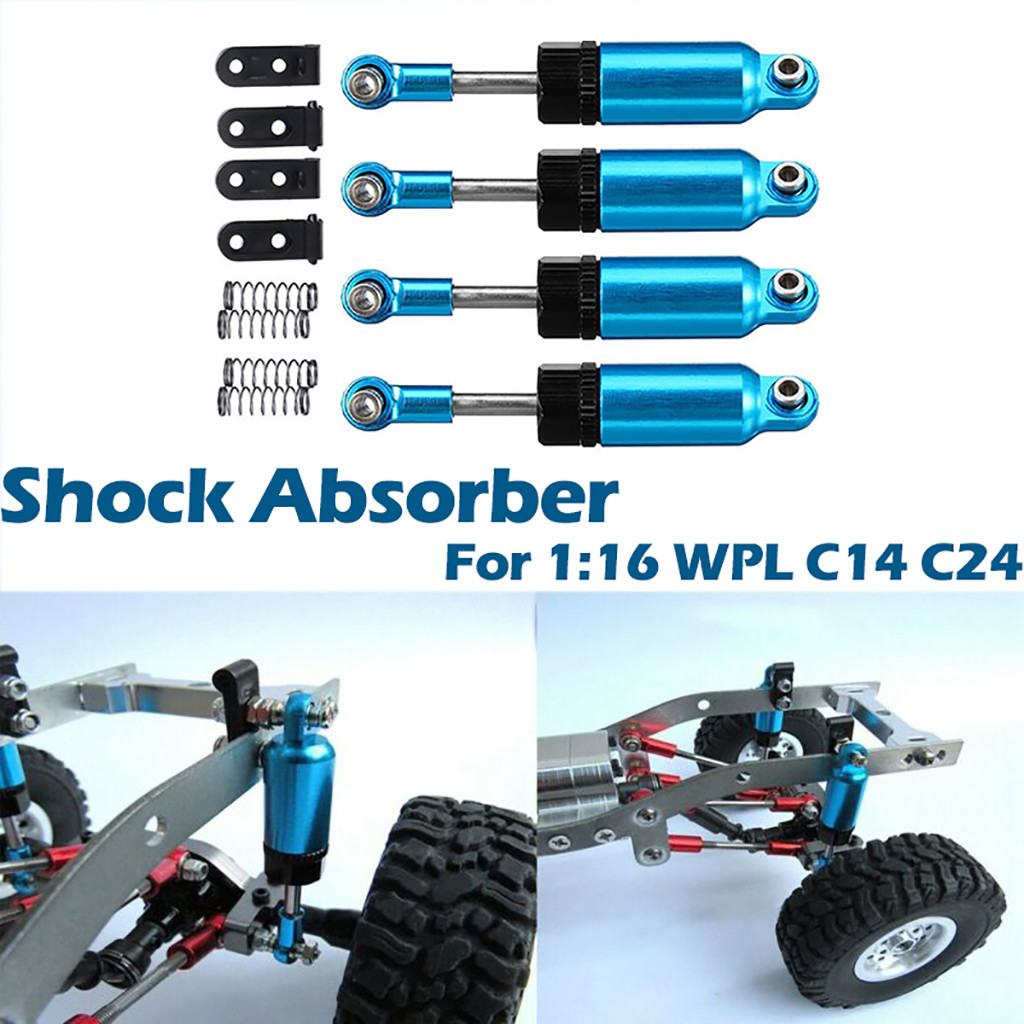 Shock Absorber+Extender For 1//16 WPL C-14 C-14K C-24 C-24K MN90 MN90K MN91 MN91K