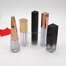 3 мл, 5 мл, 6 мл, 10 мл блеск для губ тюбики, пустой бальзам в бутылке, розовая Золотая крышка, цилиндр, конус, в форме пятиугольника, губная палочка Упаковка Контейнер