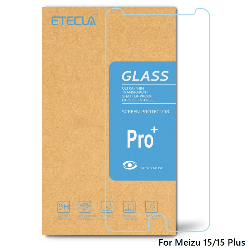 For Meizu 15 Tempered Glass Meizu 15 Plus Glass On For Meizu 15plus Screen Protector Clear HD Protective 0.33mm Tempered Glass