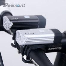 5 w high power led cabeza luz delantera de la bicicleta recargable usb lámpara de iluminación linterna de la bici del manillar ciclismo linterna 1200 mah