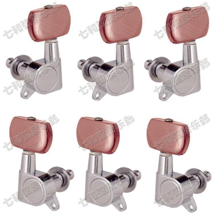 T30 3R3L guitarra Acústica sintonizador botón cuerdas Clavijas de Afinación Keys